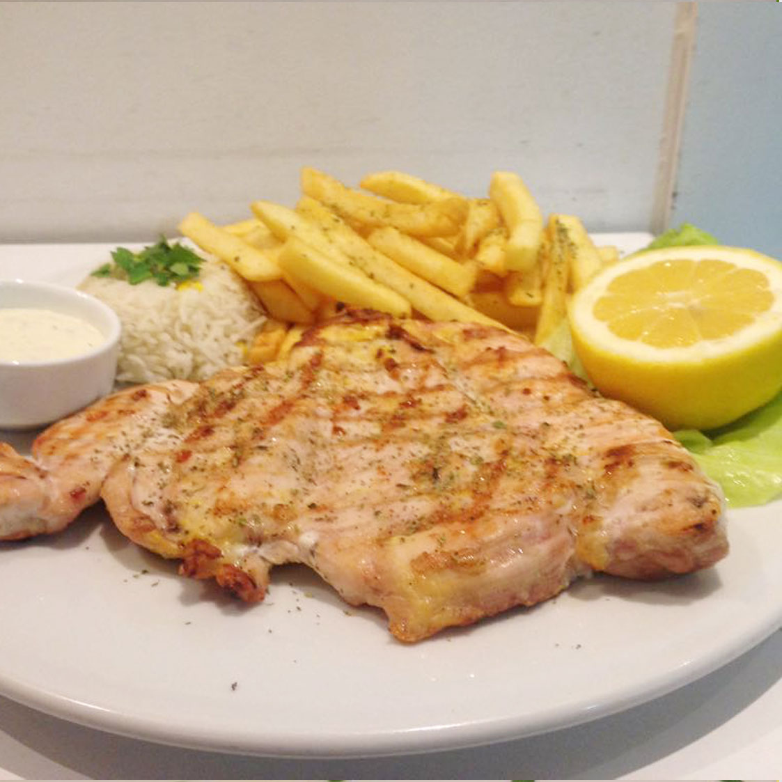 grilled chicken fillet