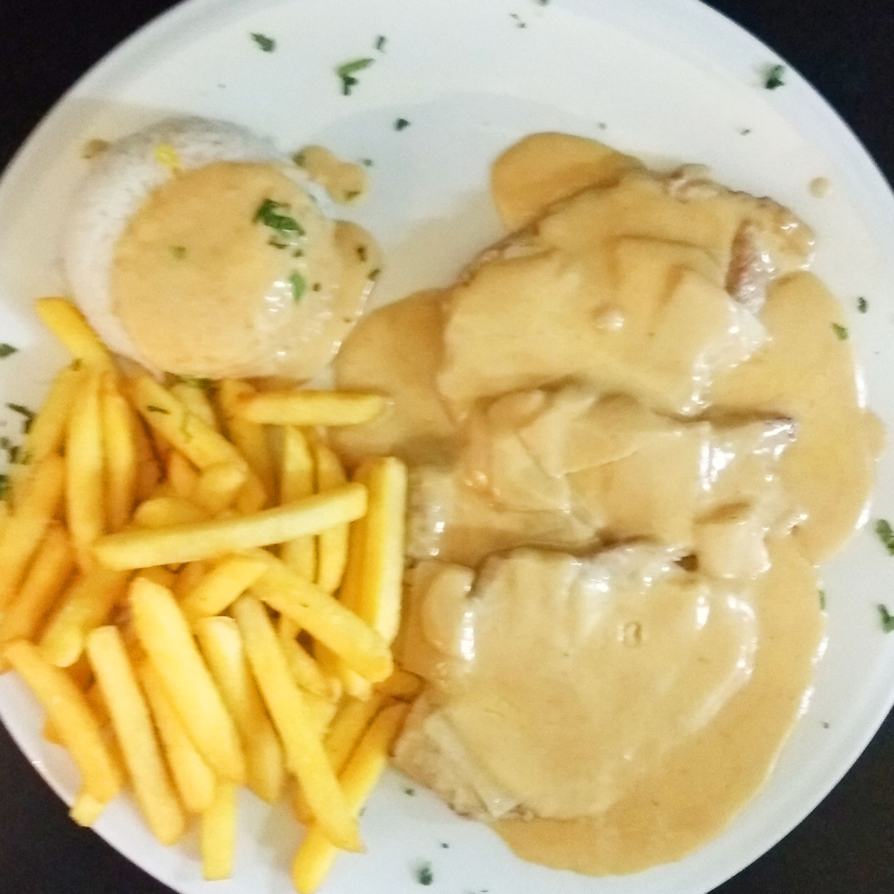 scaloppine al fredo