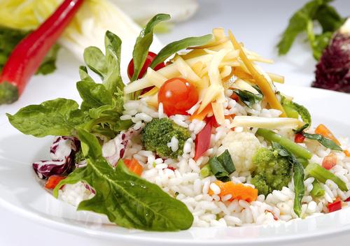 ριζότο με λαχανικά